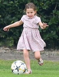 Princess Charlotte Soccer