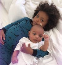 Psalm West and Saint baby album