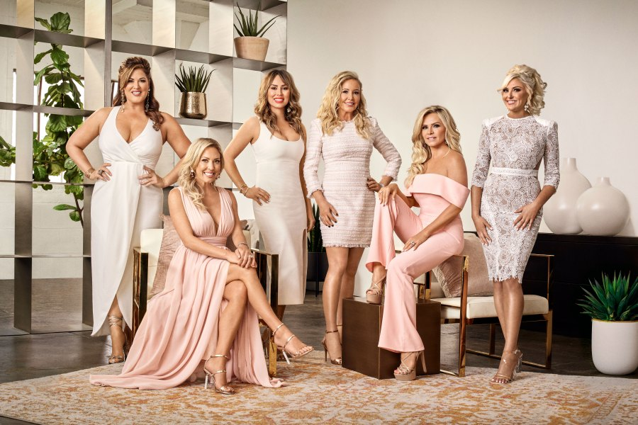 Real Housewives of Orange County Season 14 Cast Find Out Who Is Returning Emily Simpson, Braunwyn Windham-Burke, Kelly Dodd, Shannon Beador, Tamra Judge, Gina Kirschenheiter
