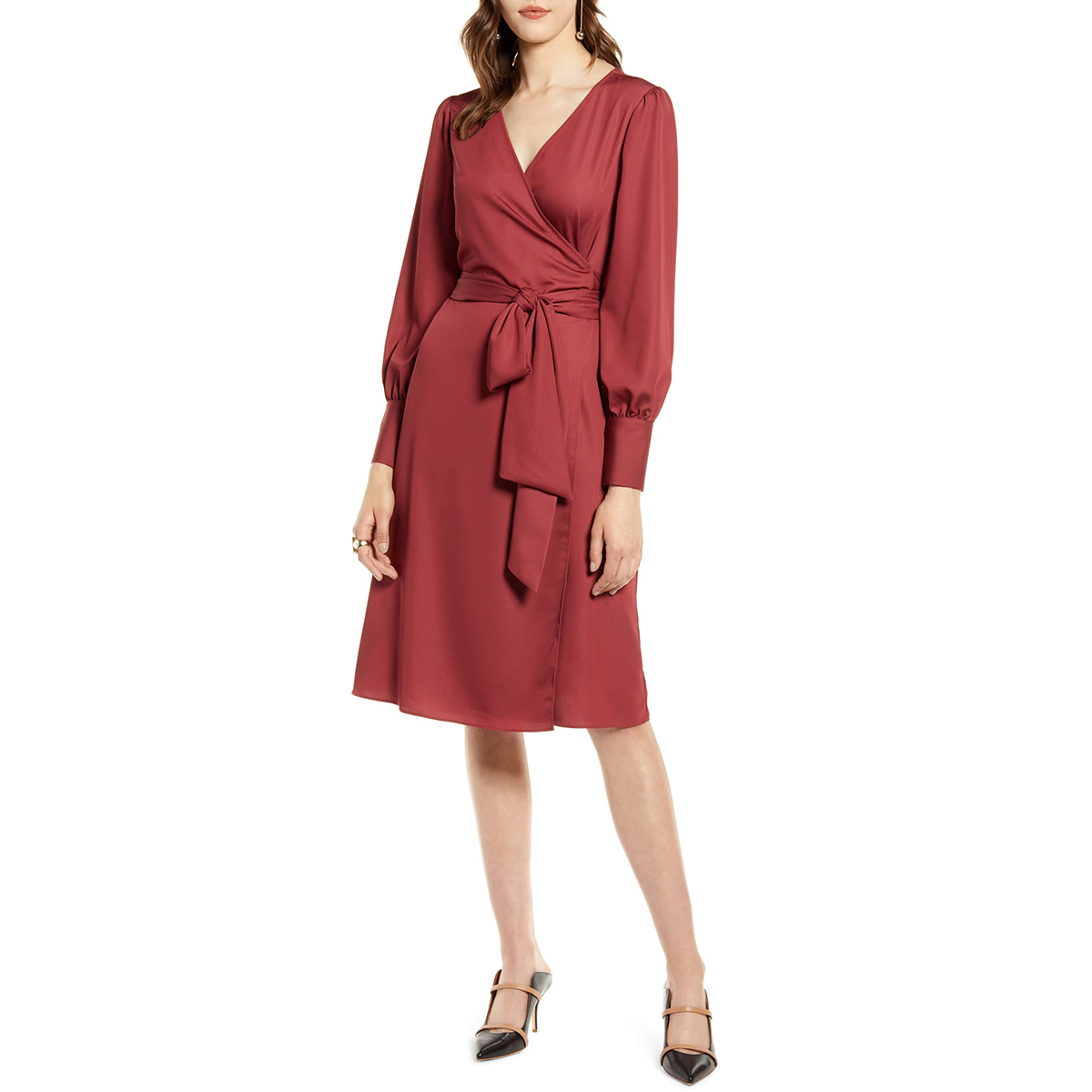 4b1941c22 Our Favorite Wrap Dress in the Nordstrom Sale Is So Flattering