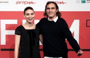 Rooney Mara Joaquin Phoenix engaged