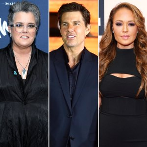 Rosie ODonnell Tom Cruise Scientology Calls Leah Remini Superhero