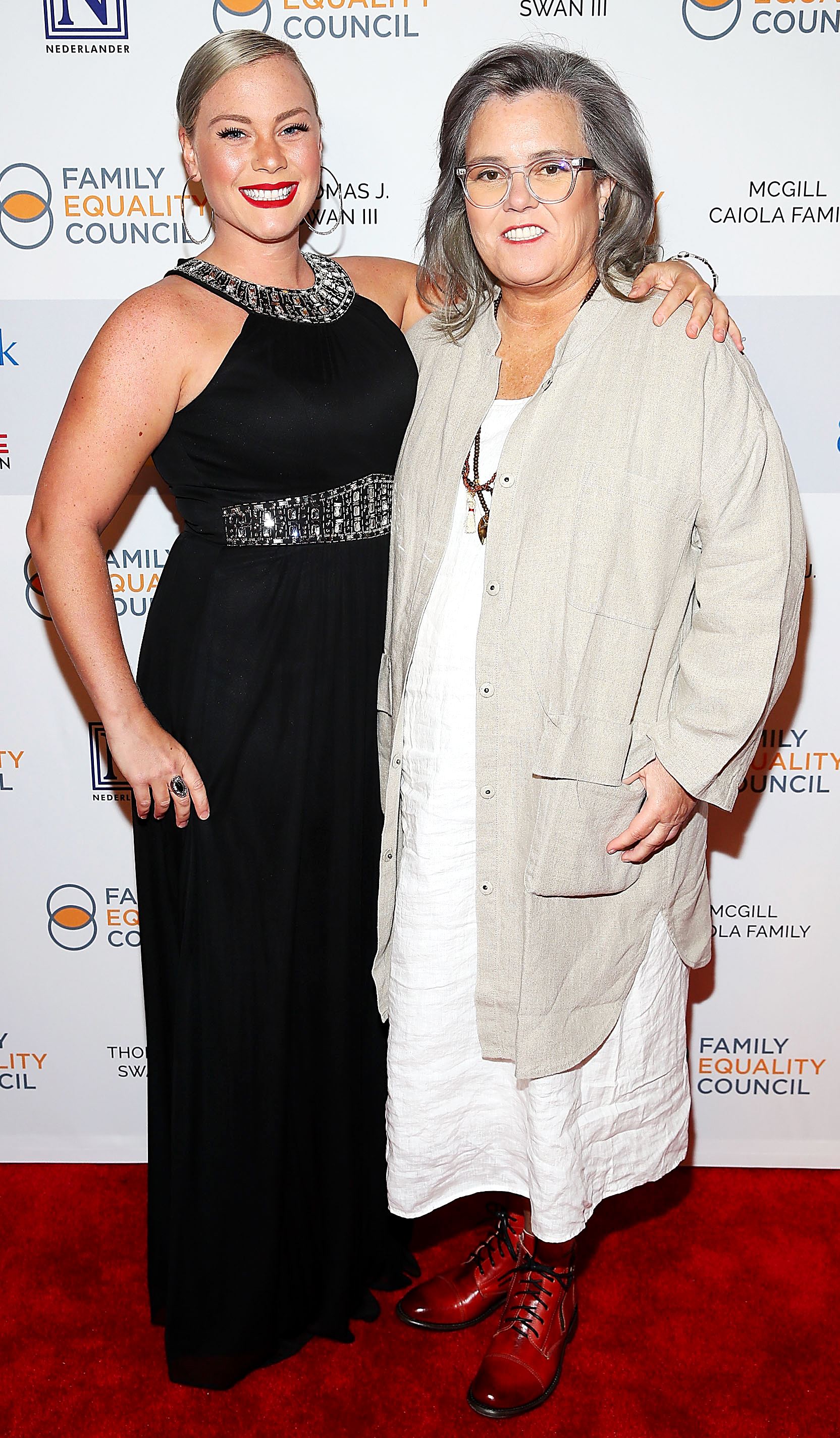 Rosie O'Donnell First Night Sleeping Over Police Officer Fiancee House