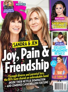 Sandra Bullock and Jennifer Aniston Us Weekly Cover Issue 3119
