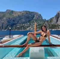 Sara Sampaio Bikini Instagram July 17, 2019