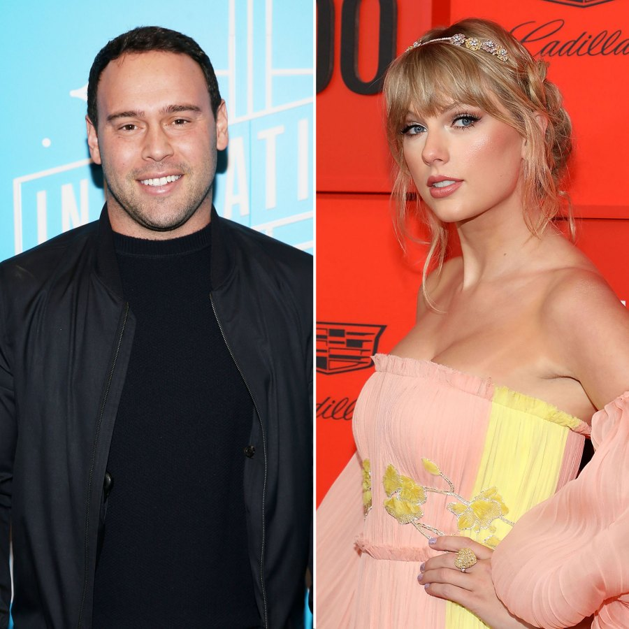 Scooter Braun Open To Talking To Taylor Swift