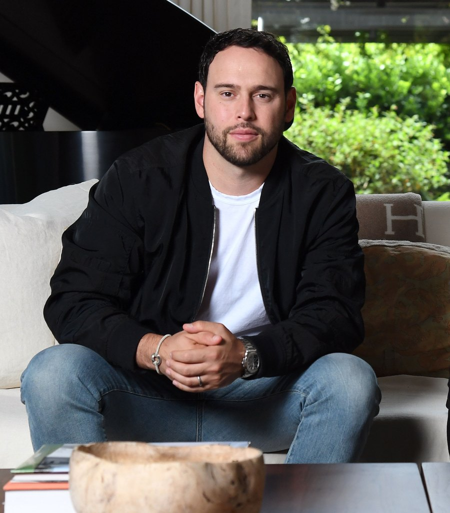 Scooter Braun Taken a Toll