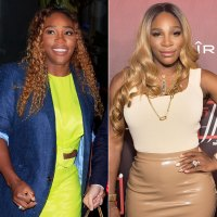 Serena Williams Brown Ombre to Blonde Ombre