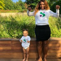 Serena Williams Daughter Alexis Twinning Instagram