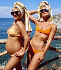 Shay-Mitchell-bump-4th-of-july-bikini