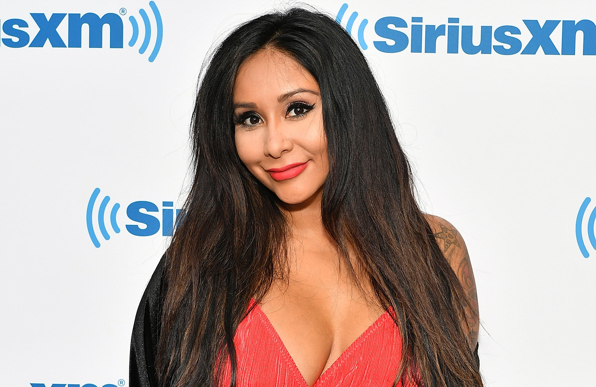 2128929a6ca7c Nicole 'Snooki' Polizzi Shows Off Post-Baby Body in a Bikini Five Weeks After  Giving Birth