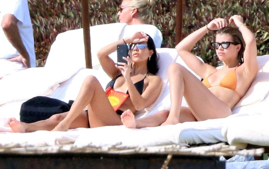 Kourtney Kardashian and Sofia Richie Bikini