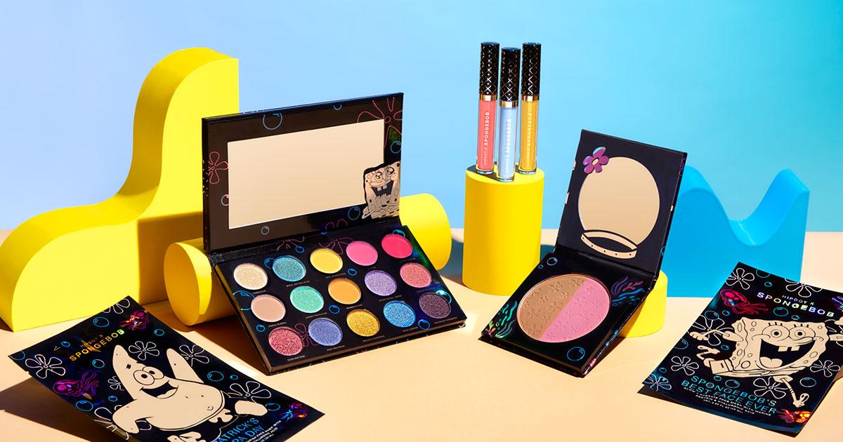 419dcb6ed1860 HipDot x SpongeBob SquarePants Makeup Collection: Details