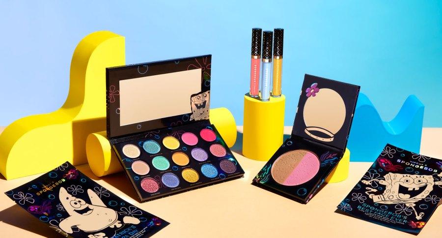 HipDot x SpongeBob SquarePants Makeup Collection