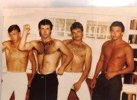 Stephen, Alec, Daniel and Billy Baldwin Celebrity Throwbacks