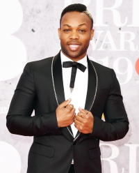 Todrick Hall attends The BRIT Awards 2019 Taylor Swift vs Scooter Braun