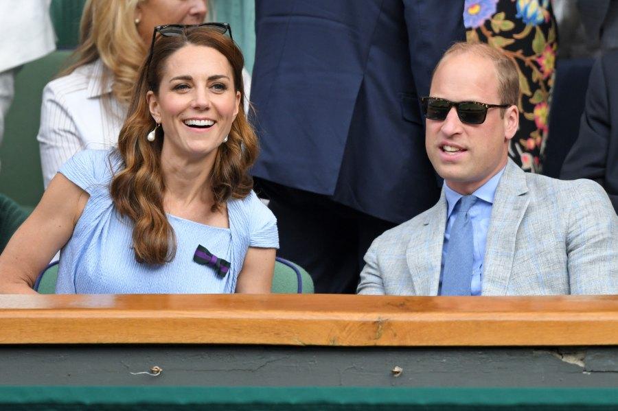 The Duke And Duchess of Cambridge at the 2019 Wimbledon Men's Singles Final