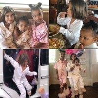 The Kardashian-Jenner Kids' Most Extravagant Birthday Parties IHop PJs party