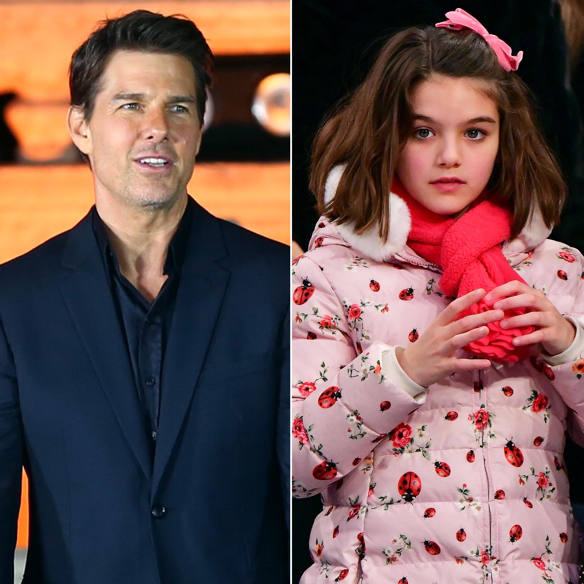 Cruise daughter tom Tom Cruise