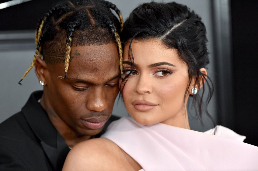 Travis Scott and Kylie Jenner GRAMMY Awards