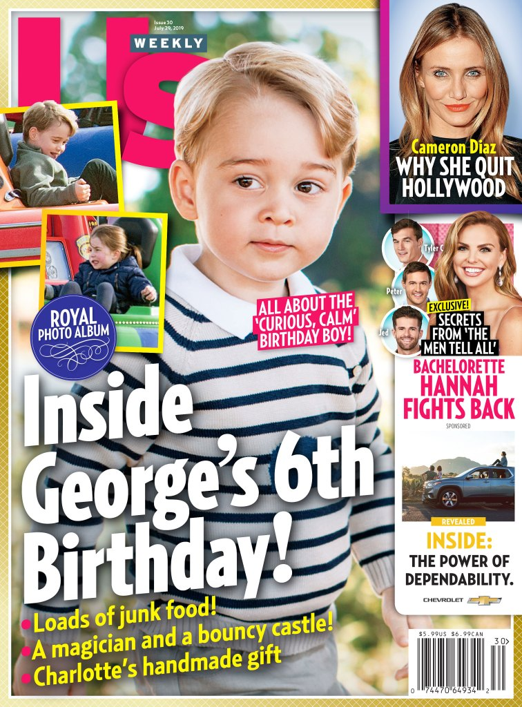 Us Weekly 3019 Prince George Birthday