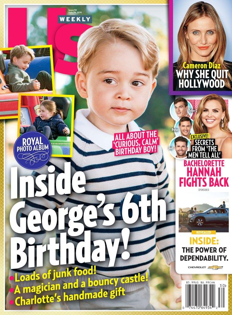 Us Weekly 3019 Prince George Birthday Annette Roque and Matt Lauer Divorce Settlement