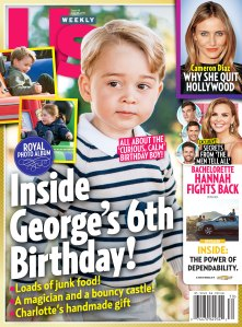 Us Weekly Cover Issue 3019 Prince George 6th Birthday