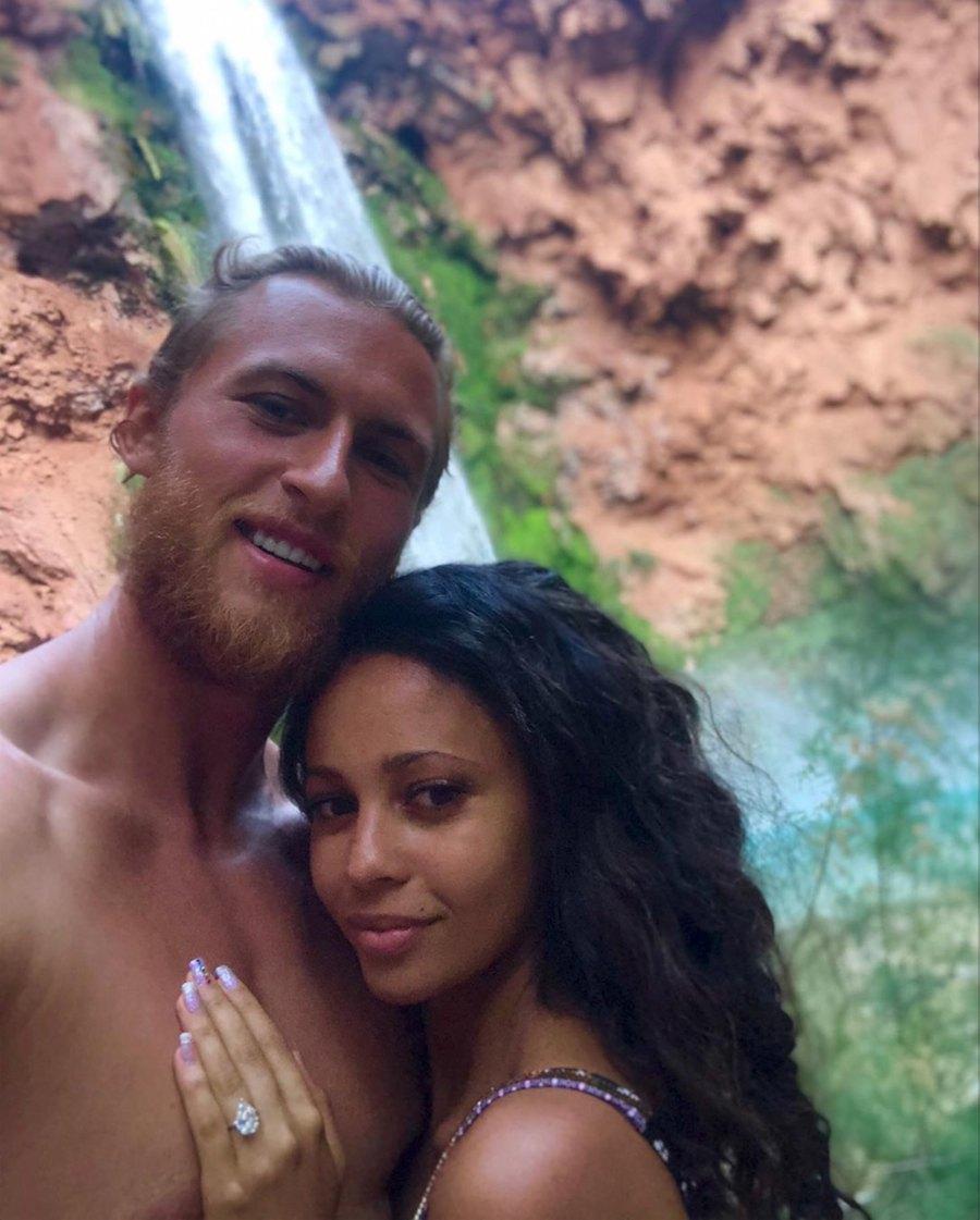 Vanessa-Morgan-and-Michael-Kopech-engaged-ring
