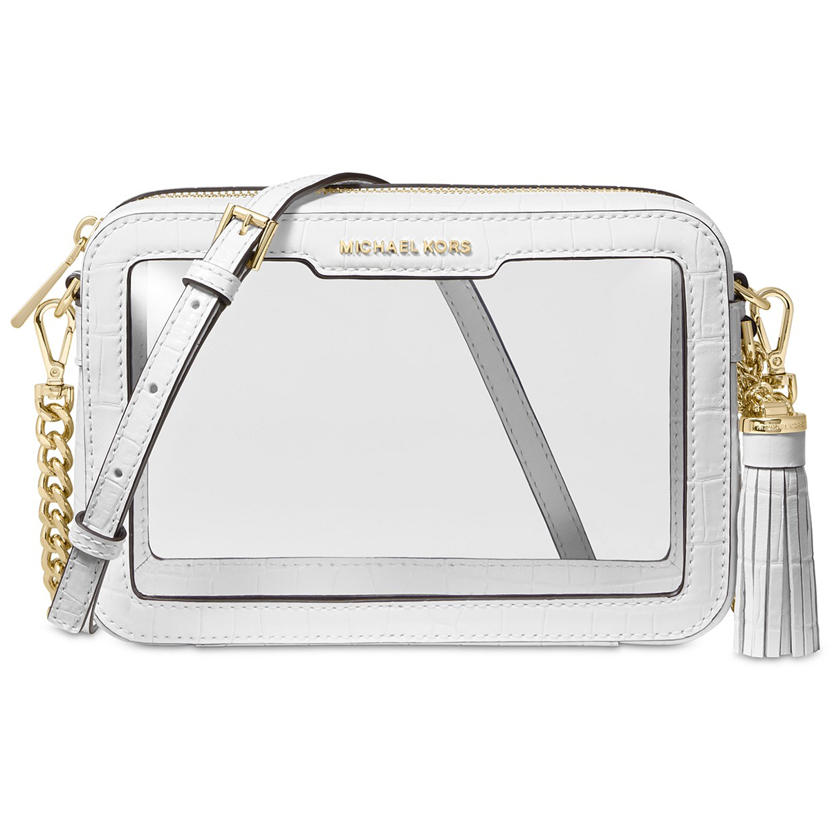 Rock the Clear Bag Trend With This Michael Kors Crossbody — Now Under $100!