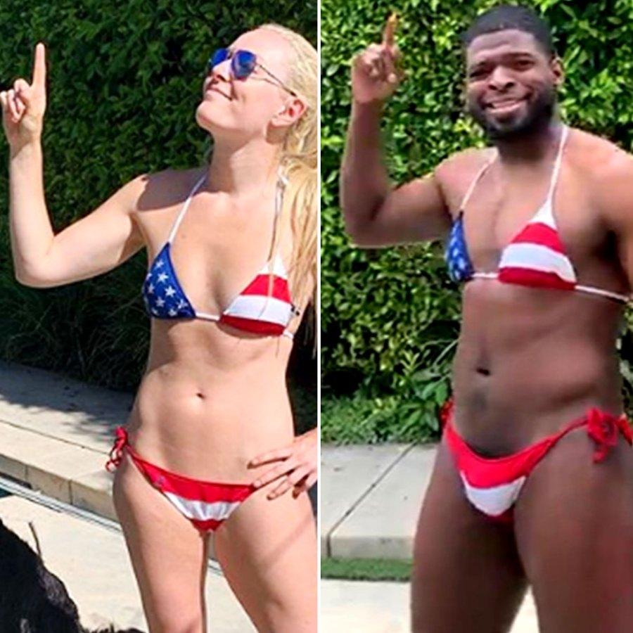 Who Wore It Best Ever Lindsey Vonn vs P.K. Subban