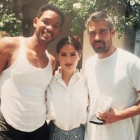 Will Smith, Salma Hayek and George Clooney Celebrity Throwbacks