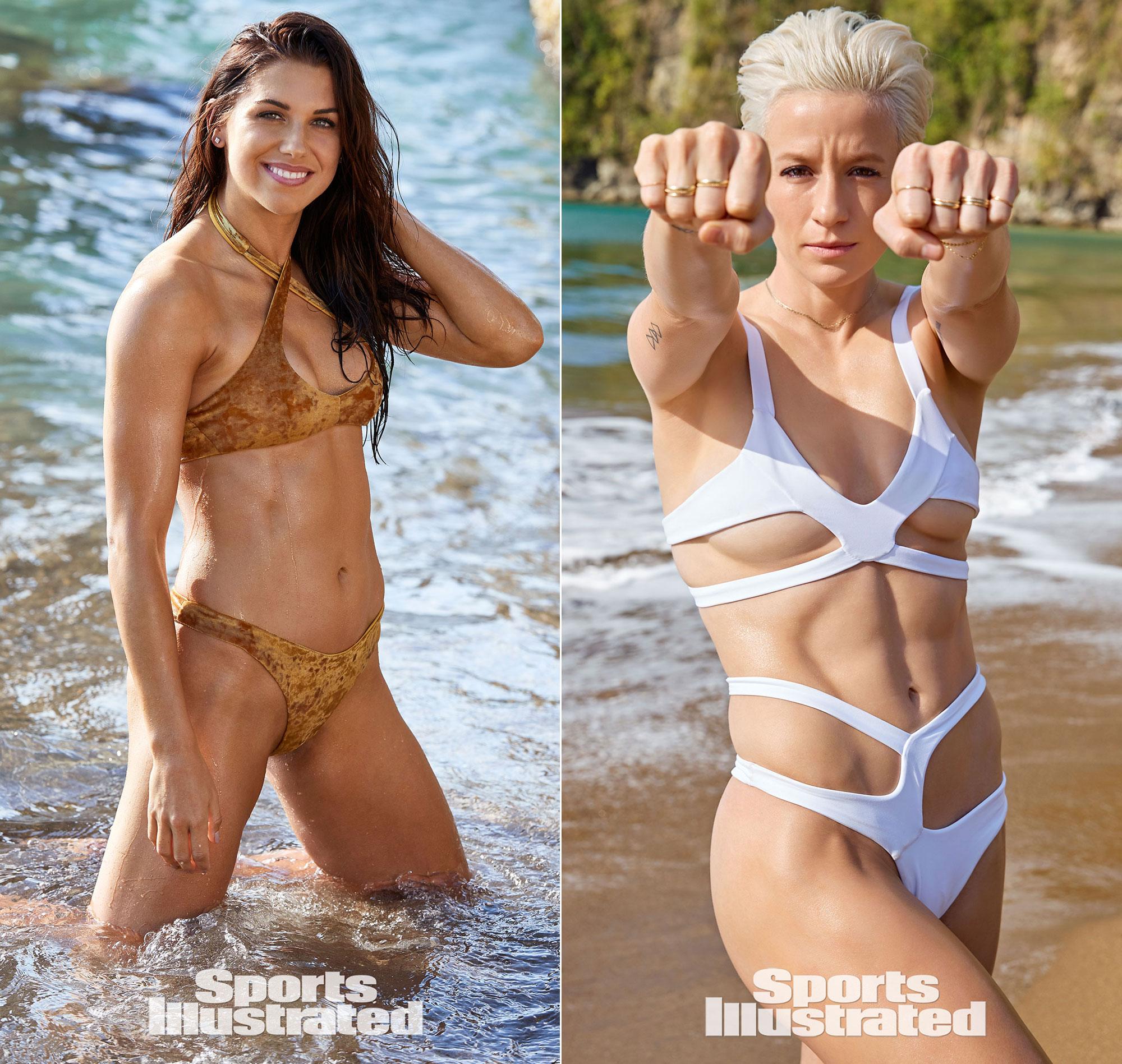 Megan Rapinoe and Alex Morgan 'SI Swimsuit Issue' Soccer
