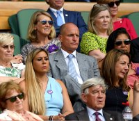 Woody Harrelson Emotions Wimbledon