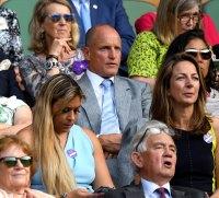 Woody Harrelson Emotions Wimbledon
