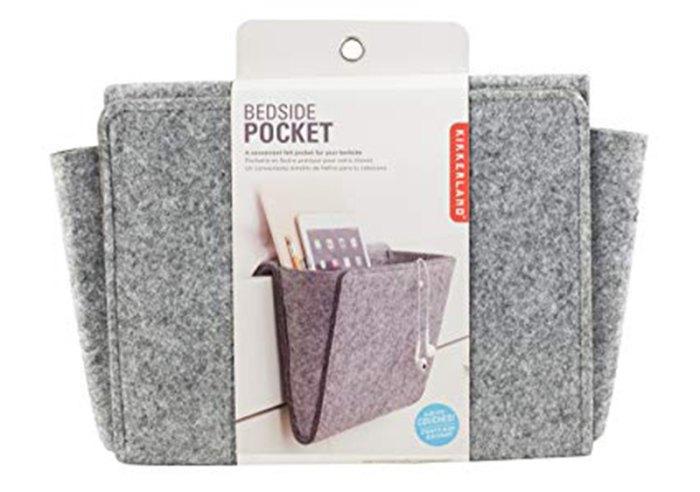 bedside pocket storage