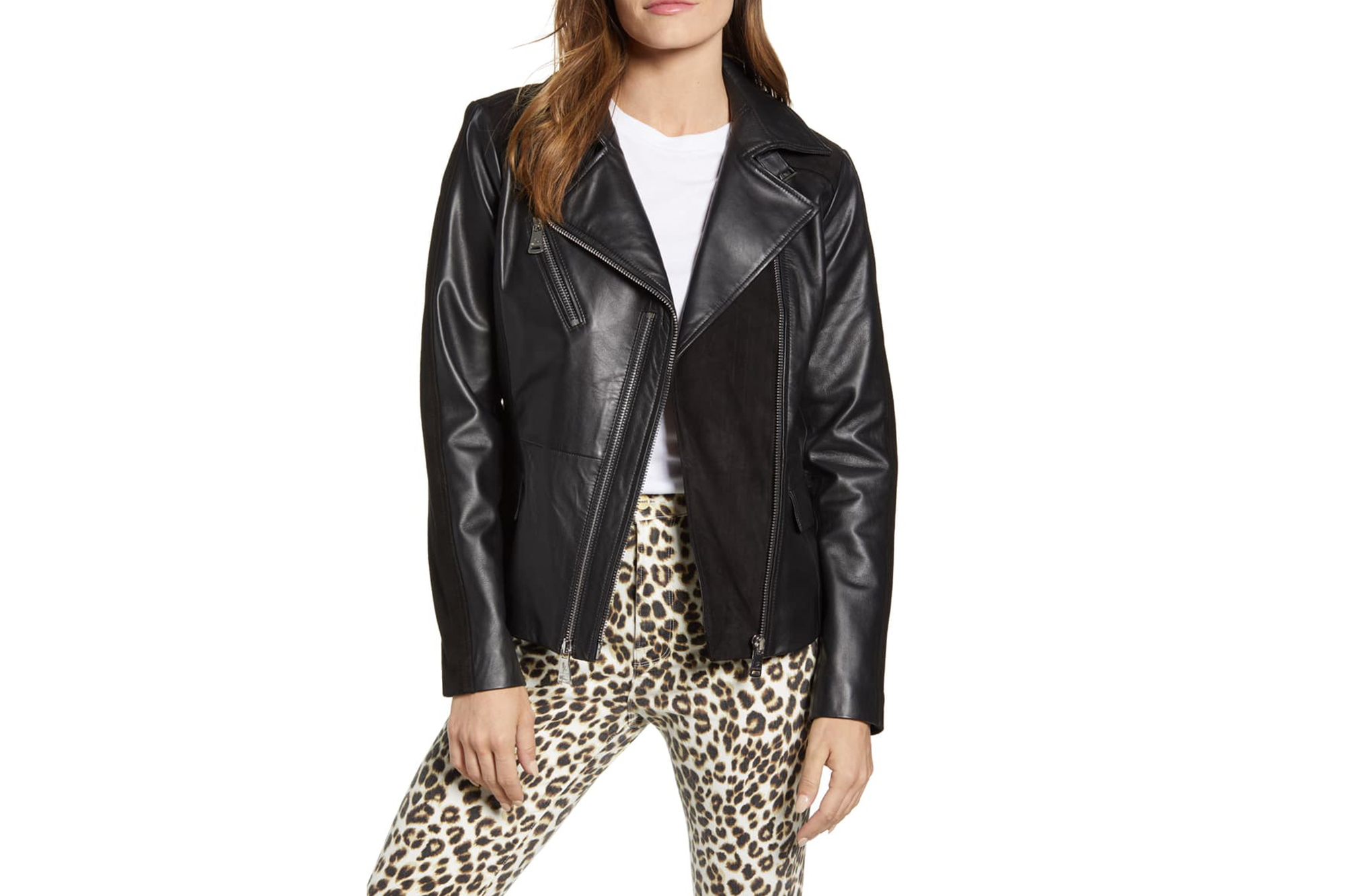 51405e2b2 Nordstrom Has the Under-$400 Leather Jacket You'll Wear Forever