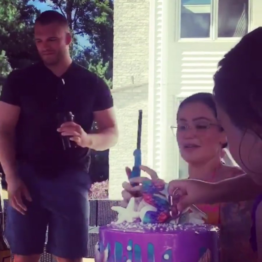 JWoww, Boyfriend Zach Carpinello and Husband Roger Mathews Celebrate Daughter's Birthday