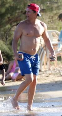 Hunks in Trunks Matthew McConaughey