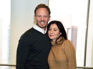 Shannen Doherty Thanks 'BH90210' Costar Ian Ziering