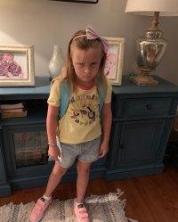 Adalynn Calvert First Day of School