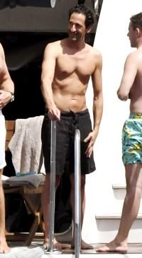 Hunks in Trunks Adrien Brody