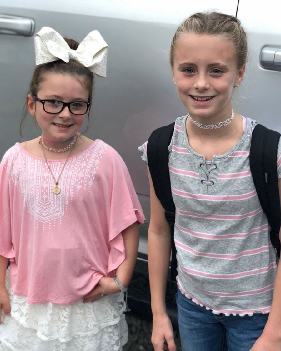 Aleeah and Aliannah Simms First Day of School