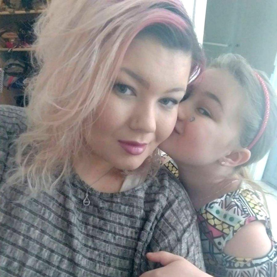 Amber-Portwood-Shares Selfie Of-Daughter-Leah