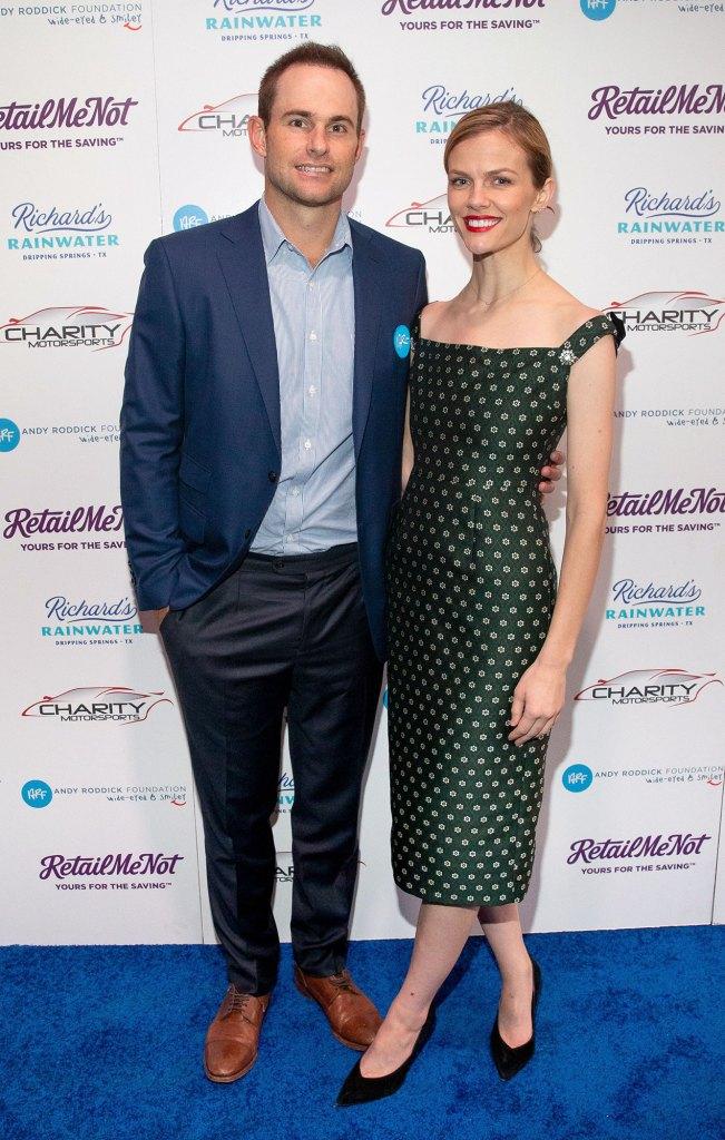 Andy Roddick and Brooklyn Decker Keep the Romance Alive