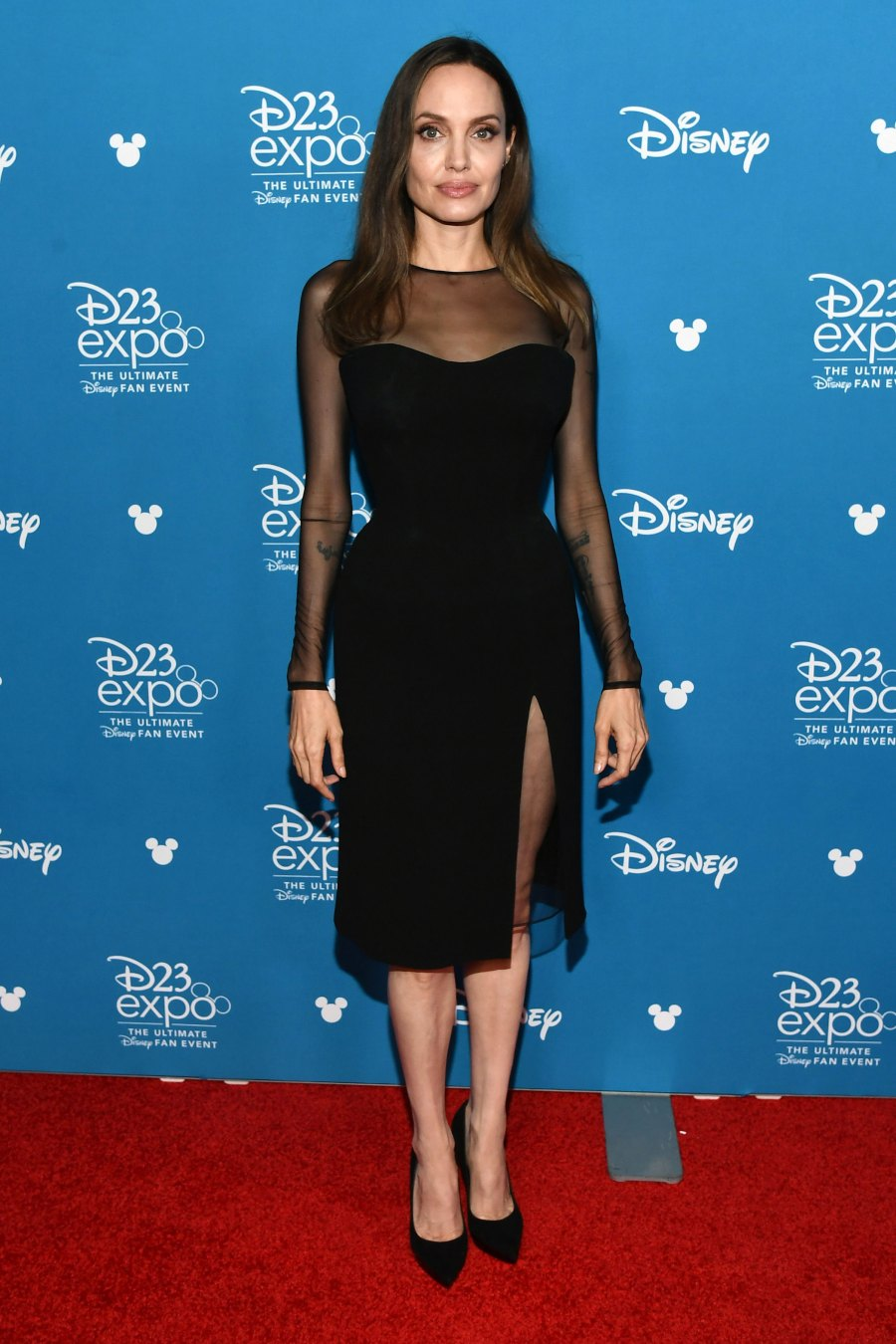 Angelina Jolie Talks Sending Son Maddox to College, Plus More Stars at D23