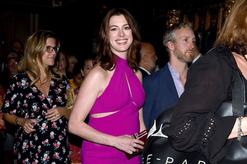 https://www.usmagazine.com/wp content/uploads/2019/08/Anne Hathaway Red Carpet Announcing 2nd Pregnancy