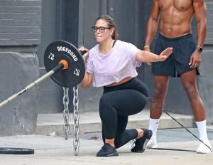 Ashley Graham Dogpound Gym