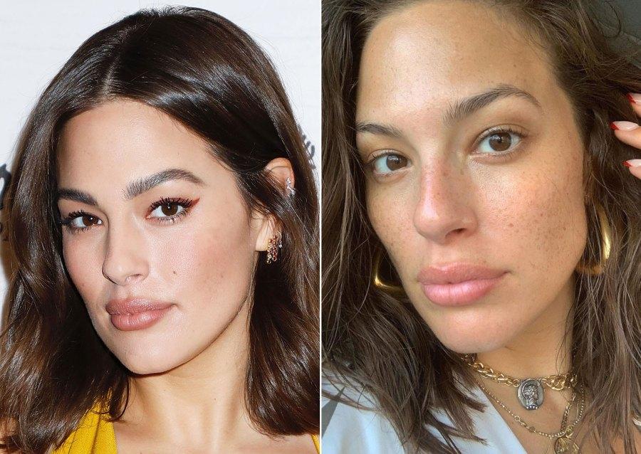 Ashley Graham Makeup Free