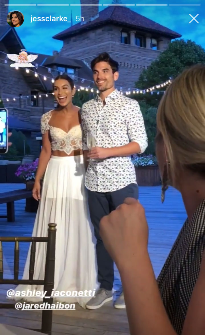 Bachelor Nation Celebrates at Rehearsal Dinner Ahead of Ashley and Jared's Wedding