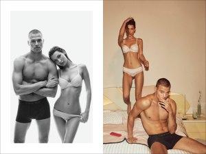 Bella Hadid Calvin Klein Campaign